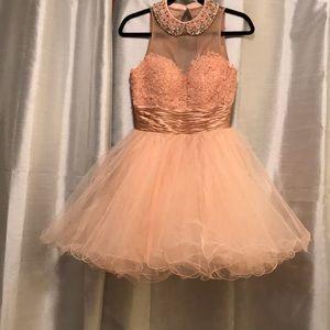 Sheri Hill Elegant, Pink, High Quality Dress.